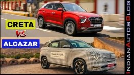 Hyundai Creta vs Hyundai Alcazar - Which One Makes More Sense?