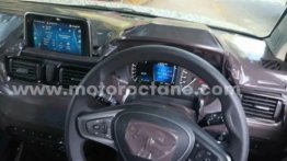Tata HBX Interior Very Similar to Altroz - New Spy Pics
