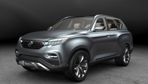 Next gen Ssangyong Rexton to debut at 2016 Paris Motor Show - Report