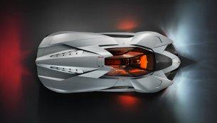 The spectacular Lamborghini Egoista debuts on video