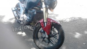 Spied - Mahindra Mojo is out testing again