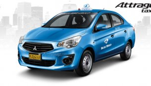 Mitsubishi Attrage might be launched in Indonesia as a taxicab