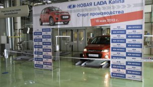 Production of the new Lada Kalina commences in Russia; European launch by late 2013