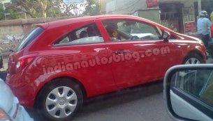 Another IAB reader spots an Opel Corsa in Bengaluru