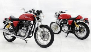 Royal Enfield Continental GT cafe racer confirmed for end-2013