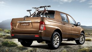 Updated Ssangyong Korando Sports pickup gets a TVC in Korea