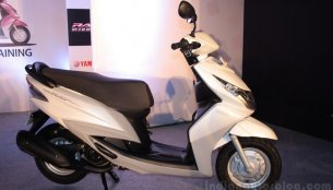 Yamaha to unveil a male specific automatic scooter tomorrow?