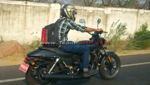 Spied - Are you the new entry level Harley Davidson cruiser?