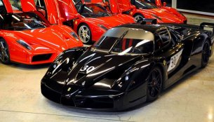 Schumacher's Ferrari FXX, Enzo up for sale