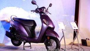 Get up close with the new Honda Activa-I [video]