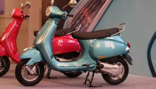 Vespa VX 125 may carry a price tag of Rs. 65,596 [Edit]