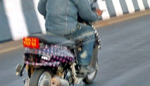 Spied - Is this a future Mahindra scooter on test?