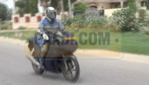 Spied - Hero-EBR's first baby caught testing in India