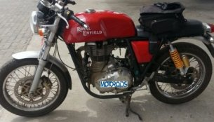 Spied - Royal Enfield Continental GT Cafe Racer spotted again