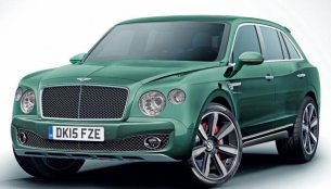 New renderings of the Bentley SUV - Which one do you like?