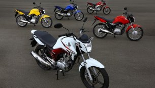 Honda launches next generation CG 125 and CG 150 motorcycles in Brazil