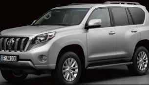 Leaked - Toyota Land Cruiser Prado and Lexus GX heading for a refresh