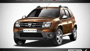 Rendering - If Dacia were to only mildly update the Duster
