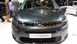 Frankfurt Live - Citroen Grand C4 Picasso shows its curvy assets