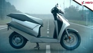 Video - Take a tour of the Hero Leap electric hybrid scooter concept