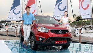 Korea - Ssangyong Korando C facelift launched