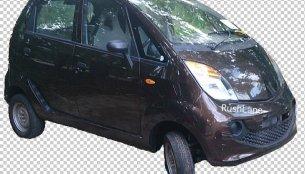 Spyshots - Tata Nano diesel shows off its interior