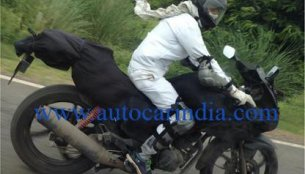 Spied - Hero Motocorp's new fully faired sportsbike caught testing