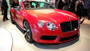 Frankfurt Live - Bentley Continental GT V8 S [Update - Presented in Goodwood]