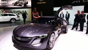 Frankfurt Live - The Opel Monza concept is a visionary