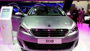 Frankfurt Live - Peugeot 308 revealed