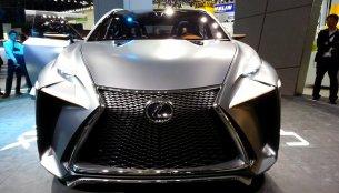 Frankfurt Live - How do you like the Lexus LF-NX Concept?