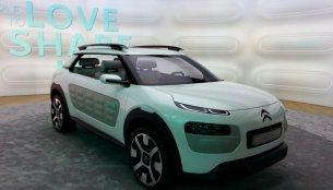 Frankfurt Live - Citroen Cactus Concept previews its budget C-Line models