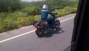 Spied - Harley Davidson's 500cc baby cruiser caught testing in India
