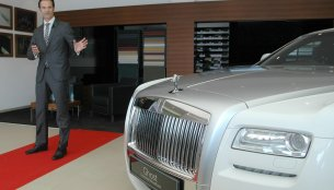 Rolls Royce opens a new dealer showroom in Ahmedabad