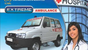 ICML launches Ambulance van application of the Extreme