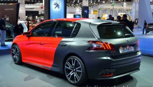 Frankfurt Live - Peugeot 308 R Concept breaks cover