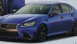 Japan - M5-rivaling Lexus GS F spotted undisguised