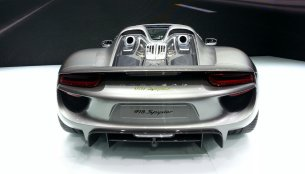Porsche 918 Spyder sold out - IAB Report