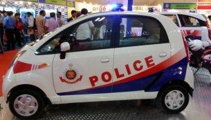 Tata Nano shown as a Delhi Police vehicle, looks brilliant!