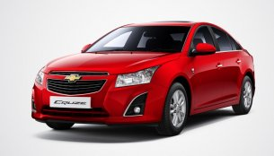2013 Chevrolet Cruze Facelift launched at INR 13.75 lakhs, brochure inside