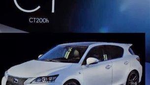 Leaked! 2014 Lexus CT200h facelift