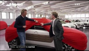 Production Citroen Cactus teased!