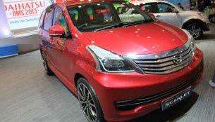 Indonesia - Daihatsu Xenia Scarlet showcased