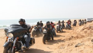 Report - 2nd Southern H.O.G ride sees 300 Harley-Davidsons participate