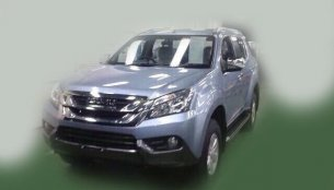 Images and prices of the Isuzu MU-X (next gen MU-7) leaked