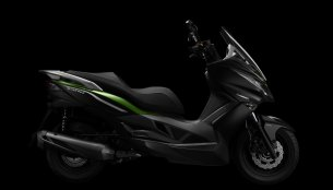 Kawasaki J300, the company's first maxi scooter, to be unveiled at the EICMA