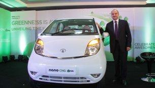 Tata Nano CNG emax launched at 2.52 lakhs