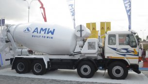 IAB Report - AMW introduces 3118 TM transit mixer at EXCON 2013