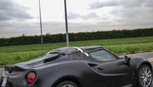 Spied - Alfa Romeo 4C convertible spotted for the first time