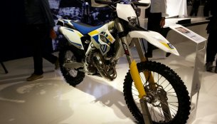 EICMA Live - Husqvarna brings a complete range of 2014 MY Enduro and Motocross bikes